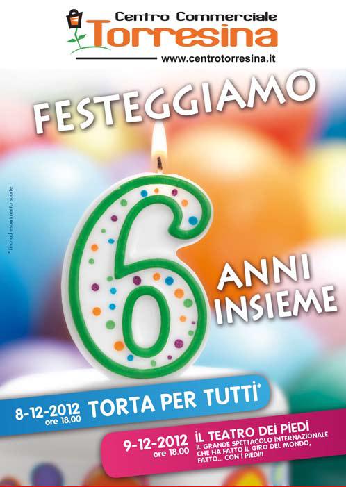 Festa dei 6 anni del Centro Torresina