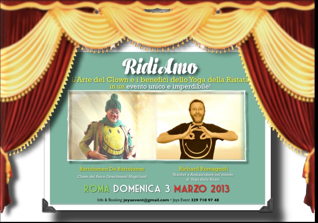 A Roma il 3 marzo RidiAmo