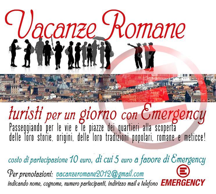 Vacanze Romane per Emergency