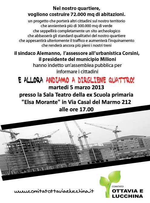 Programma urbanistico – Palmarola – Lucchina