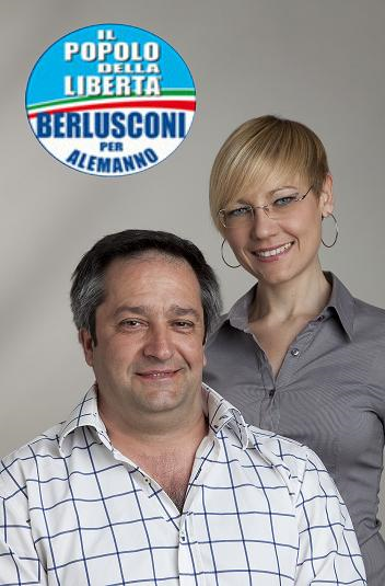 Municipio Monte Mario: Mauro Gallucci e Valentina Zazza (Popolo della Libertà)