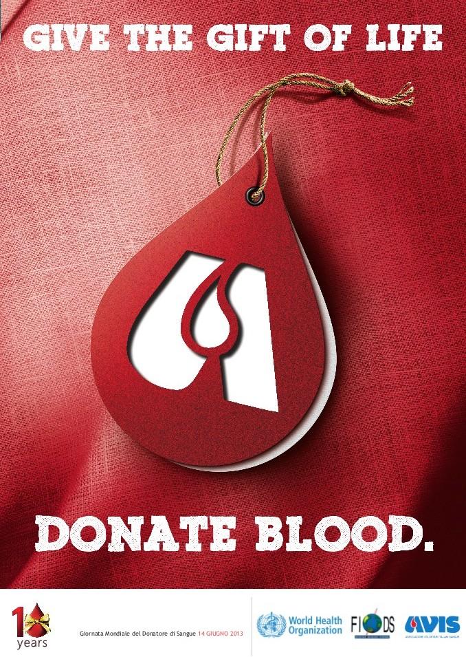 Regala il dono della vita, dona sangue