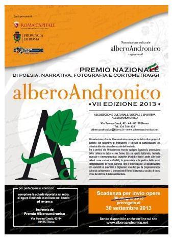 Alberoandronico 2013, fino al 30 settembre