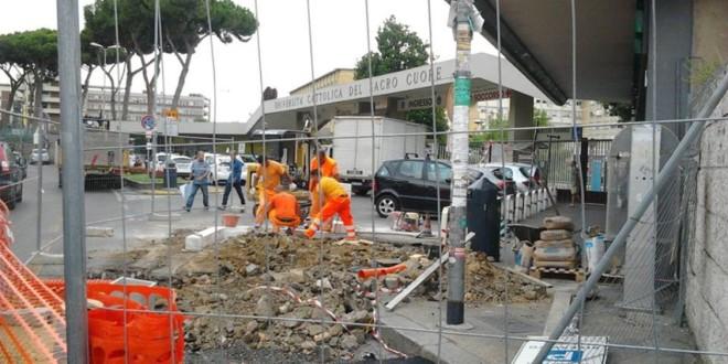 Completati lavori davanti al Policlinico Gemelli, oggi l'inaugurazione.