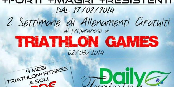 Triathlon per tutti al Daily Training Sporting Club