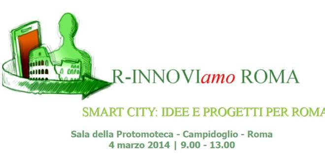 Idee e progetti per una Smart City, in diretta streaming dal Campidoglio
