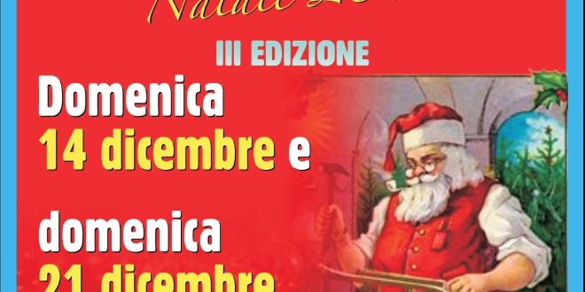 Domenica 14 e 21 dicembre torna la Mostra Mercato degli Artigiani di Torresina