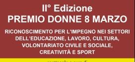Premio Donne 8 Marzo 2015
