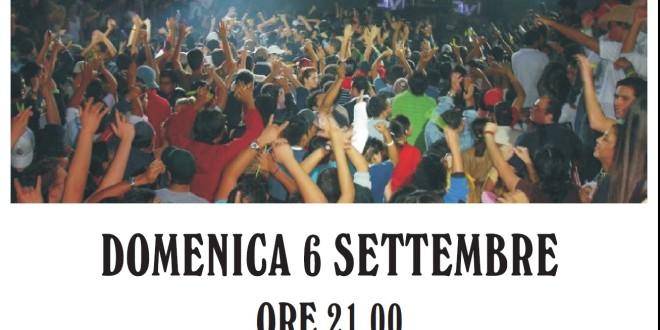 Domenica 6 settembre Musica Popolare