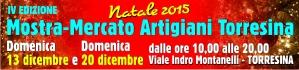 Mostra Mercato Artigiani Torresina Natale 2015