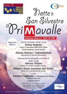 capodanno 2016, Metro Battistini, S. Silvestro, primavalle, via Lucio II, AssoKipling, Stefano Caponi
