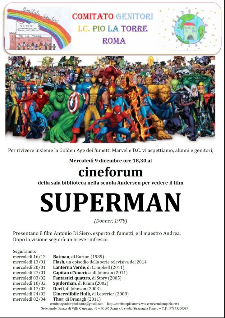 Locandina Cineforum Andersen