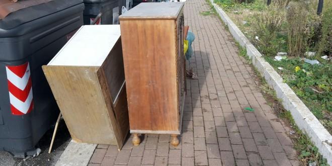 Abbandono rifiuti ingombranti del  30120116