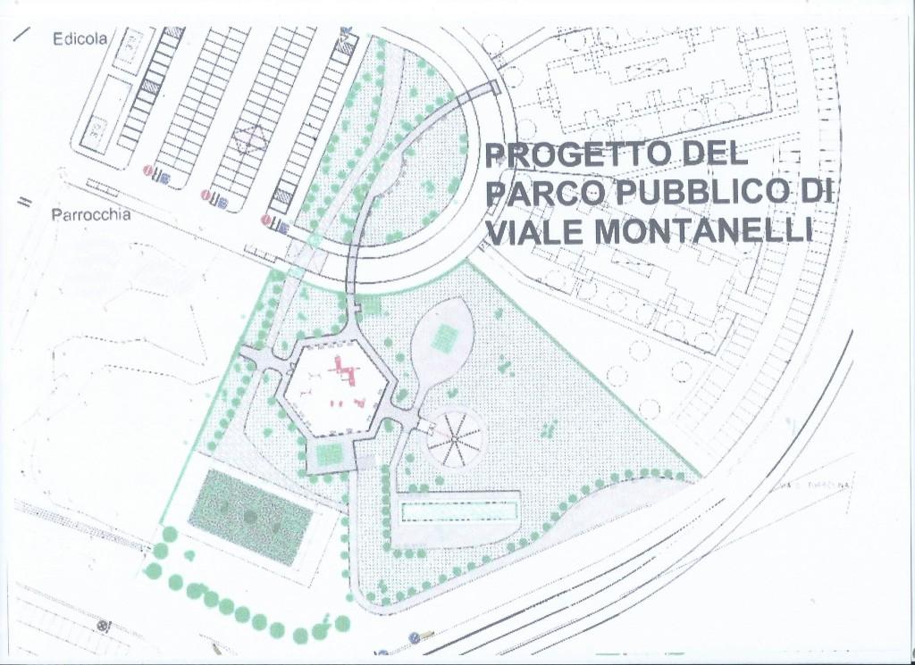 Progetto arch. Benni 2008 Parco Giochi Torresina