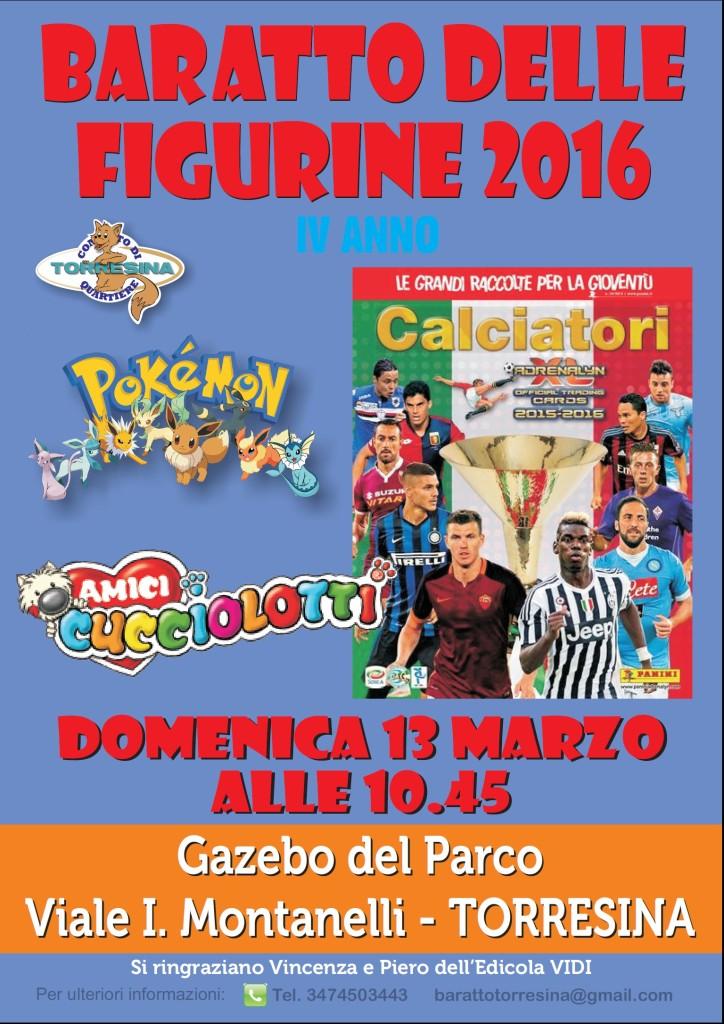 Baratto Figurine DOMENICA 13 MARZO 2016