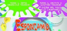 Domenica 22 maggio ESPONIAMO INSIEME… A Torresina