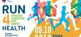Domenica 9 ottobre Run 4 Health