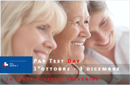 Pap Test Day. La Linea giusta è prevenire