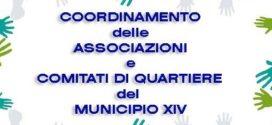 Martedi 30 gennaio assemblea costitutiva Coordinamento delle Associazioni e Comitati di Quartiere del Municipio XIV