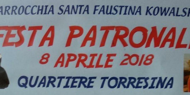 Domenica 8 aprile Festa Patronale a Torresina