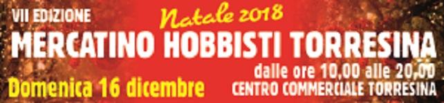 Domenica 16 dicembre vi aspettiamo alla Mercatino Hobbisti di Torresina
