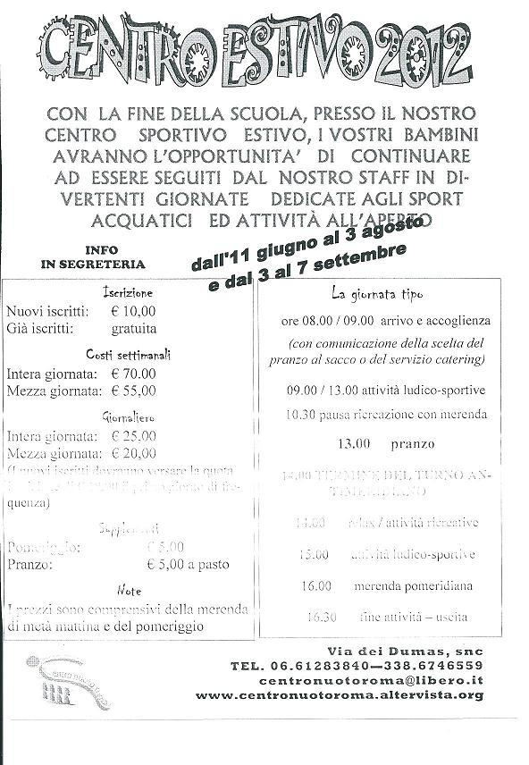 Centro Nuoto Roma