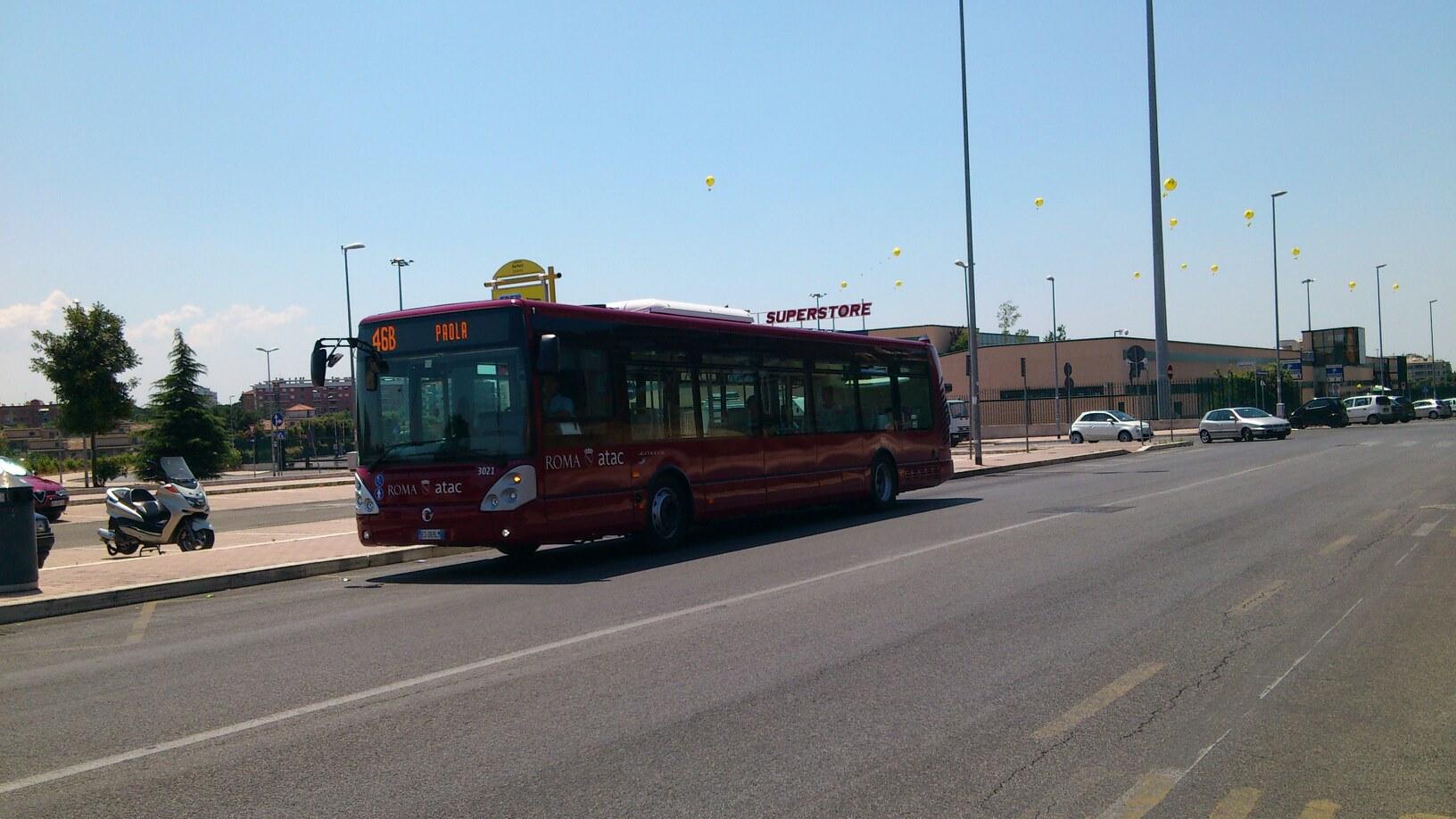 Atac, arrivano i bus ROMA