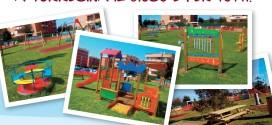 Sabato 2 aprile ore 11 inaugurazione Parco Giochi Inclusivo a Torresina
