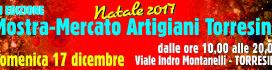 Domenica 17 dicembre vi aspettiamo alla Mostra Mercato degli Artigiani di Torresina