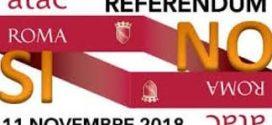 Comune di Roma. Referendum 11 novembre 2018