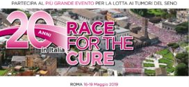 Domenica 19 maggio RACE FOR THE CURE
