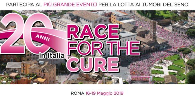 Domenica 19 maggio RACE FOR THE CURE