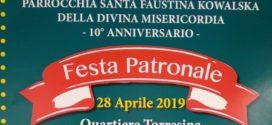 Lotteria di S.Faustina Estrazione del 28.04.2019